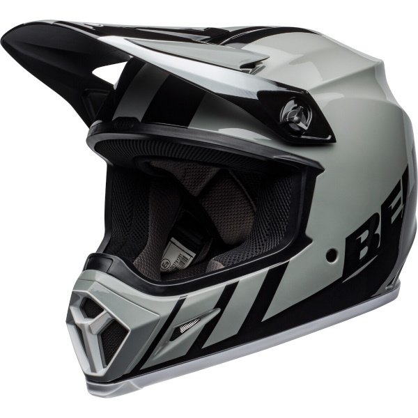 MX-9 Mips Dash Helmet Grey Black White Motocross