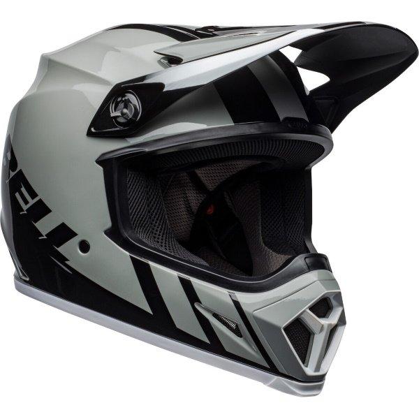 Bell MX-9 Mips Dash Helmet Grey Black White Size: S