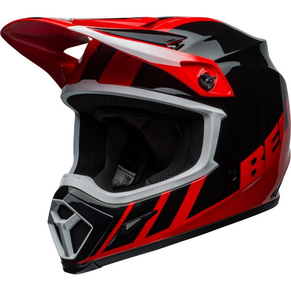 MX-9 Mips Dash Helmet Red Black Motocross