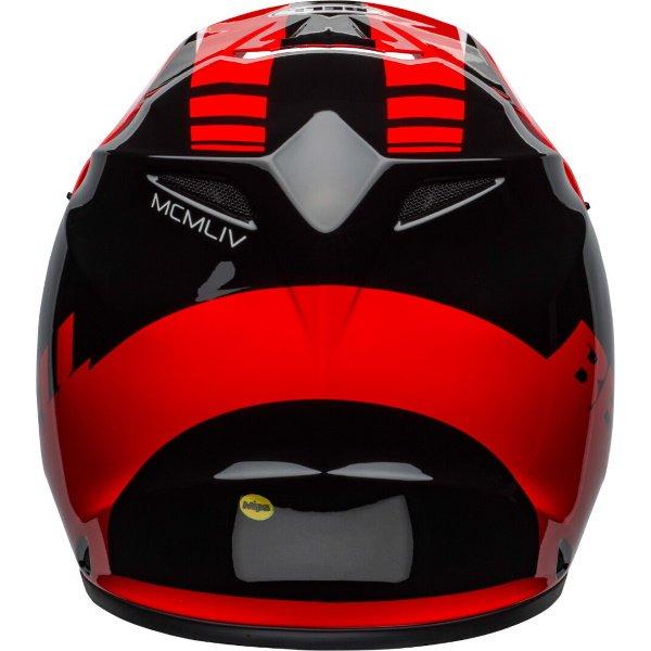 Bell MX-9 Mips Dash Helmet Red Black Size: S