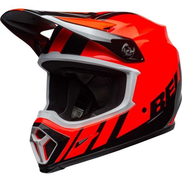 MX-9 Mips Dash Helmet Orange Black Motocross