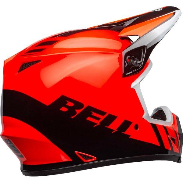 Bell MX-9 Mips Dash Helmet Orange Black Size: S