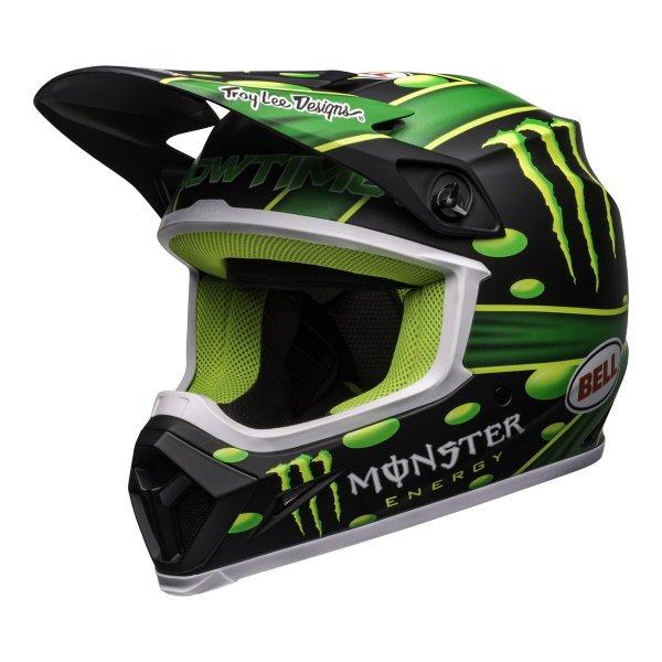 MX-9 Mips Mcgrath Helmet Showtime Black Green Motocross