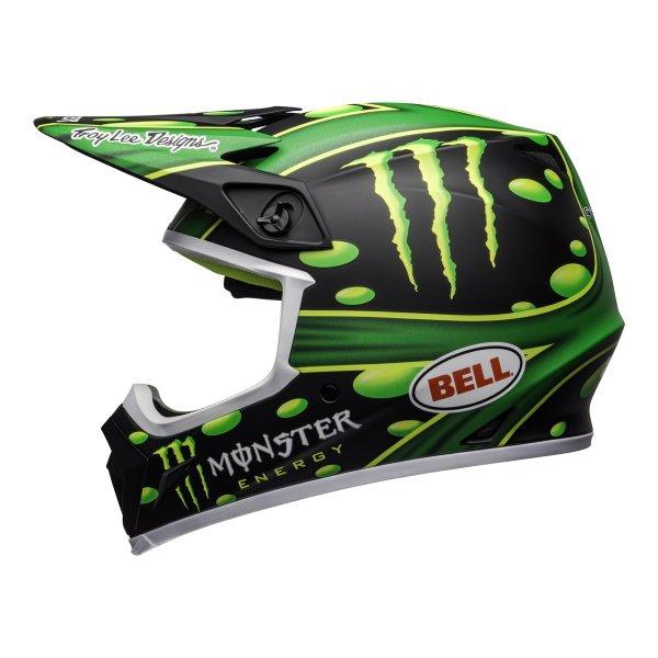 Bell MX-9 Mips Mcgrath Helmet Showtime Black Green Size: S
