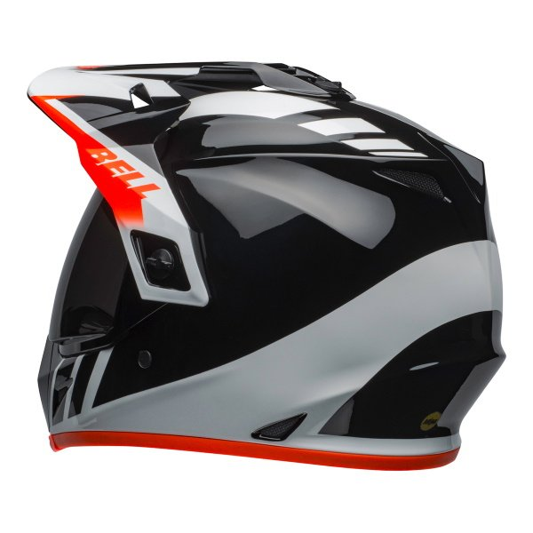 Bell MX-9 Adventure Mips Dash Helme Black White Orange Size: L
