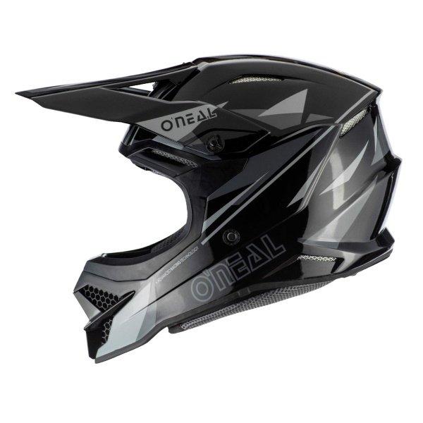 Oneal 3SRS Triz Helmet Black Grey Size: XS