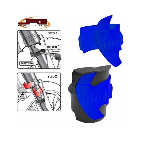 Bike It Fork Seal Saver Scraper 45-55m Blue Blue