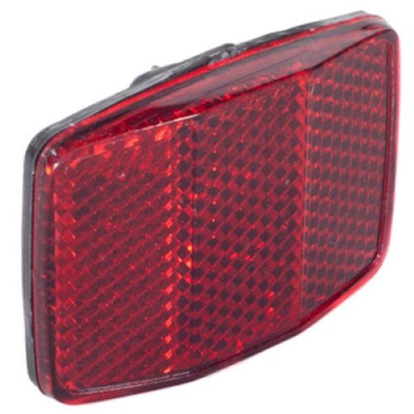 Bike It Square Red Reflector Square Red Reflector