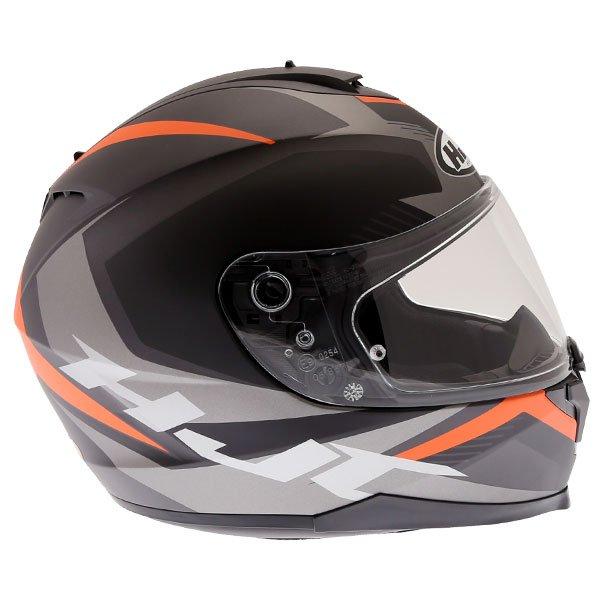 HJC C70 Troky Helmet Orange Size: XS