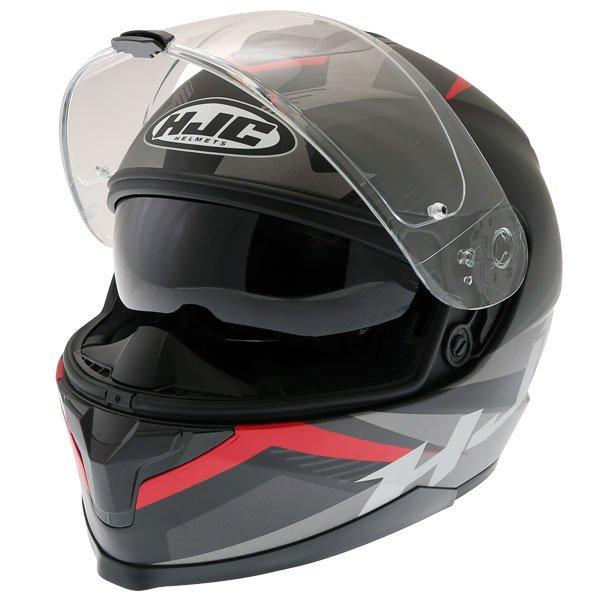 HJC C70 Troky Helmet Red Size: XS