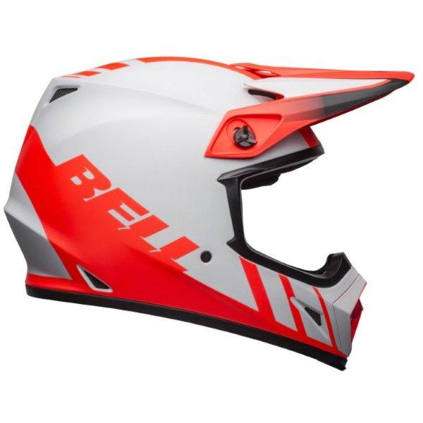 Bell MX-9 Adventure Mips Helmet Dash Matt Grey Infared Black Size: M