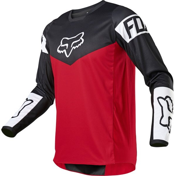 Fox 180 Revn Jersey Flame Red Size: Mens UK - S