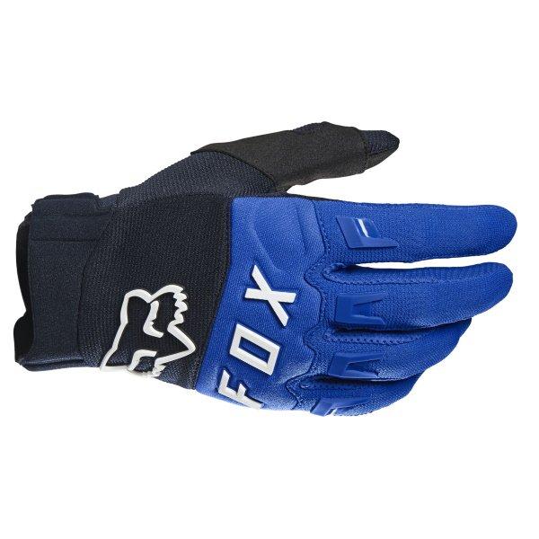 Dirtpaw Gloves Blue Motocross Gloves