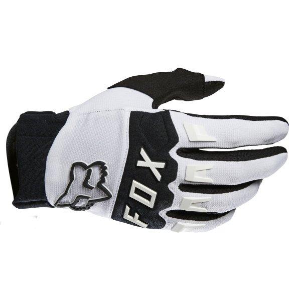 Fox Dirtpaw Gloves White Size: Mens - S