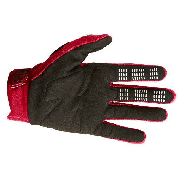 Fox Dirtpaw Gloves Flame Red Size: Mens - S