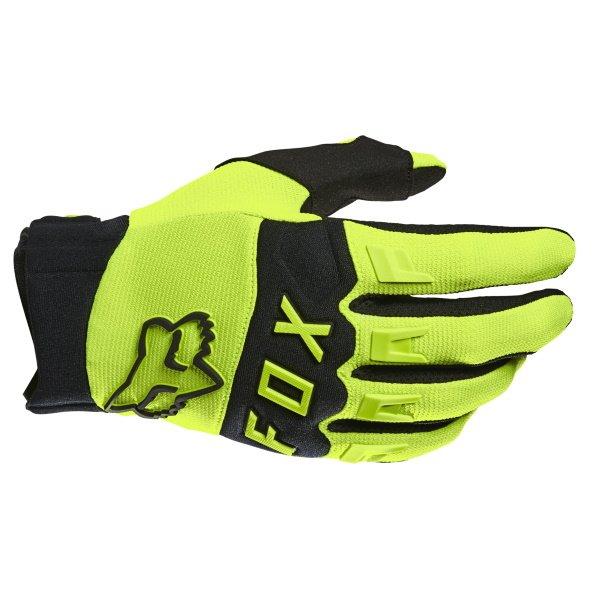 Dirtpaw Gloves Flo Yellow Motocross Gloves