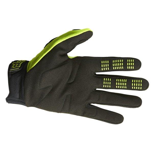 Fox Dirtpaw Gloves Flo Yellow Size: Mens - S