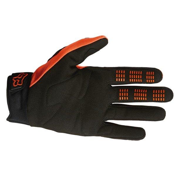 Fox Dirtpaw Gloves Flo Orange Size: Mens - S