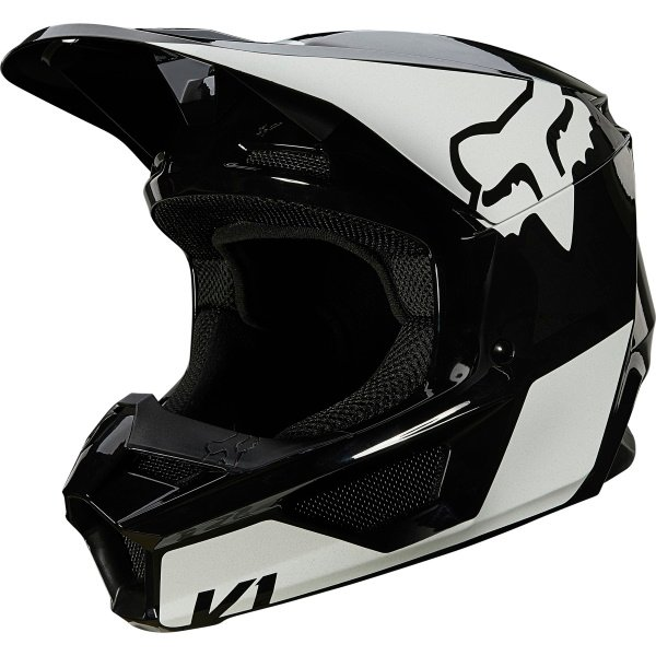 V1 Revn Helmet Black White