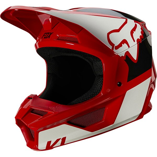 V1 Revn Helmet Flame Red