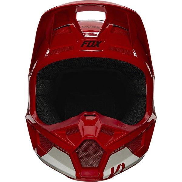 Fox V1 Revn Helmet Flame Red Size: S