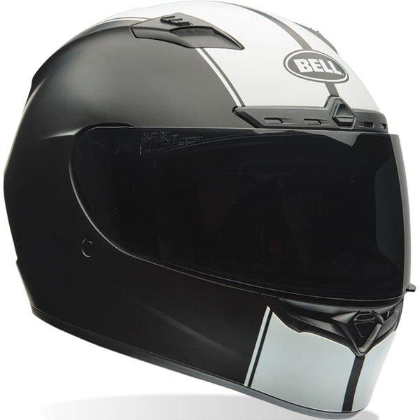 Qualifier DLX Mips Rally Matt Black White Bell Helmets