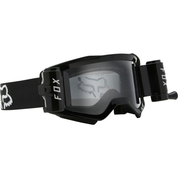 Fox Airspace Stray-Roll Off Goggle Black Black