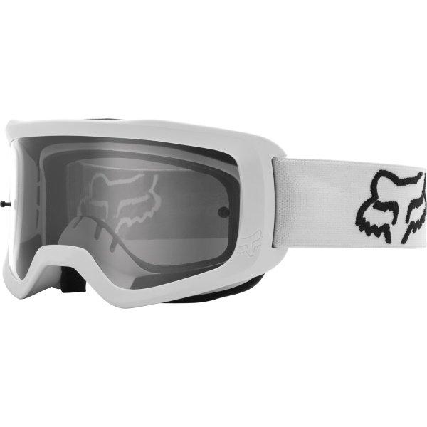 Main Stray Goggles White Motocross Goggles