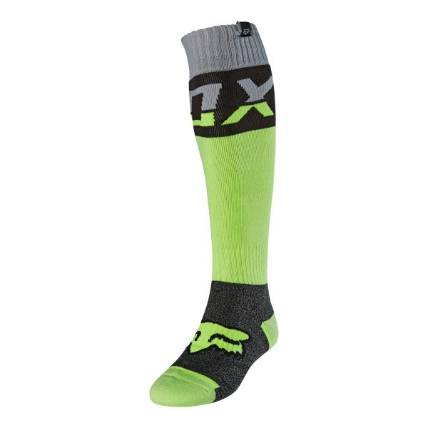 Fri Thick Sock Afterburn Flo Yellow Motocross Accessories