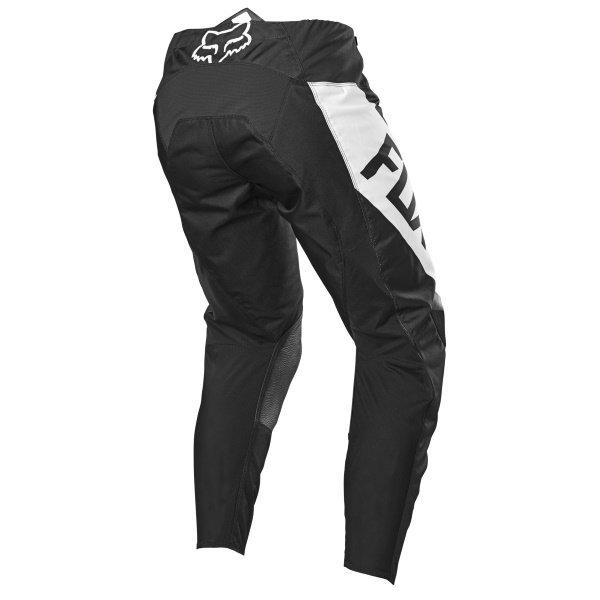 Fox Youth 180 Revn Pants Black White Size: Kids - 24