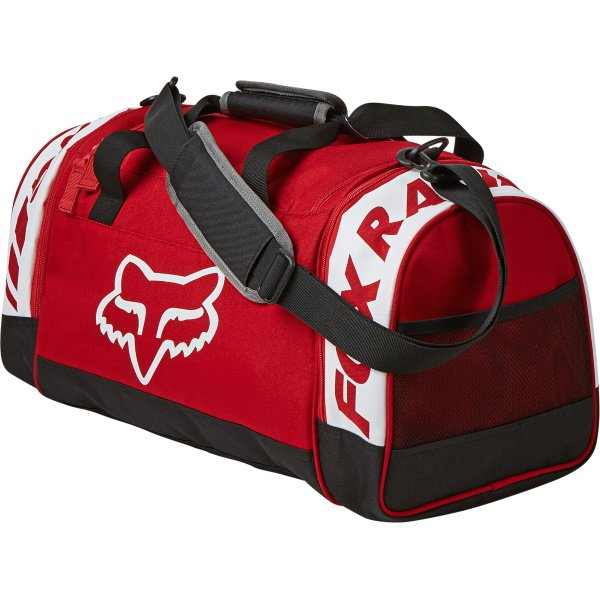 Fox 180 Duffle Bag Mach One Flame Red Flame Red