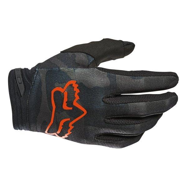 180 Trev Gloves Black Camo Fox Gloves