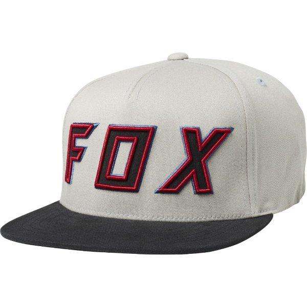 Fox Posessed Snapback Hat LT Grey LT Grey
