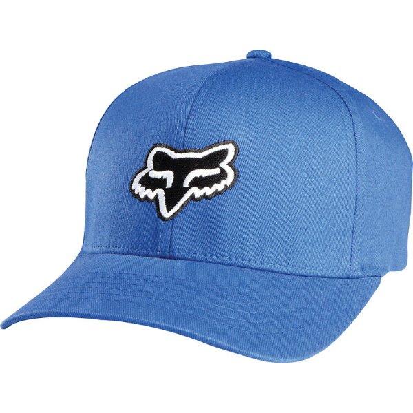 Fox Legacy Flexfit Hat Dusty Blue Size: L-XL