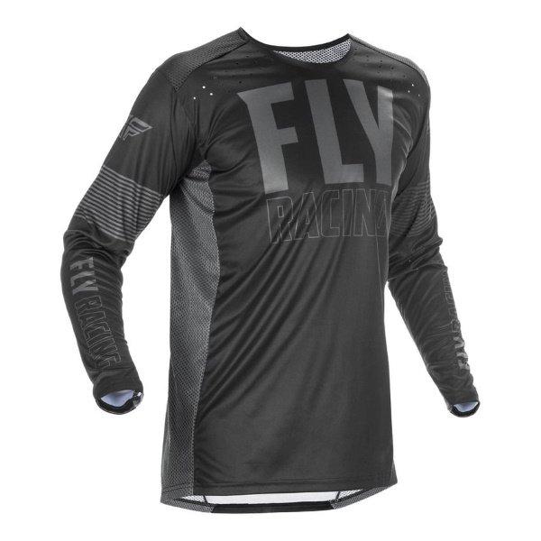 Fly Lite Jersey Black Grey Size: Mens UK - S