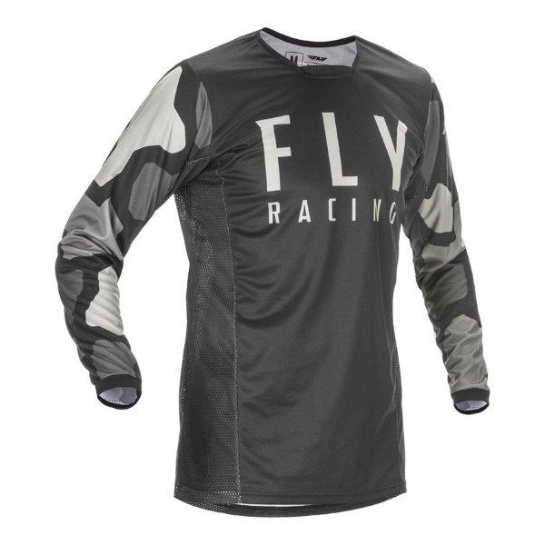 Fly Kinetic K221 Jersey Black Grey Size: Mens UK - S