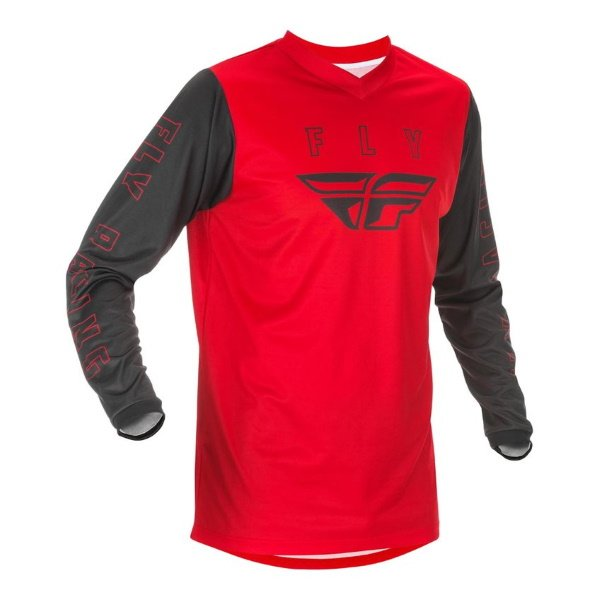 F-16 Jersey Red Black Fly