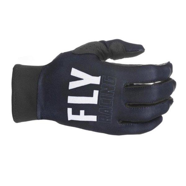 Pro Lite Gloves Black White Fly