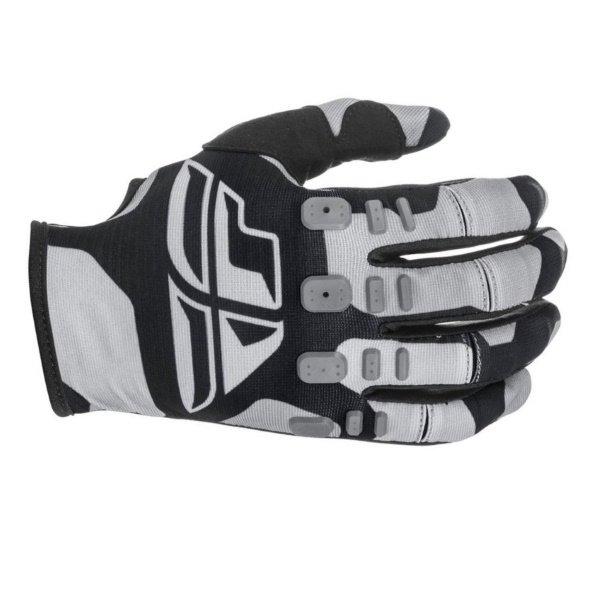 Kinetic K221 Gloves Black Grey Fly