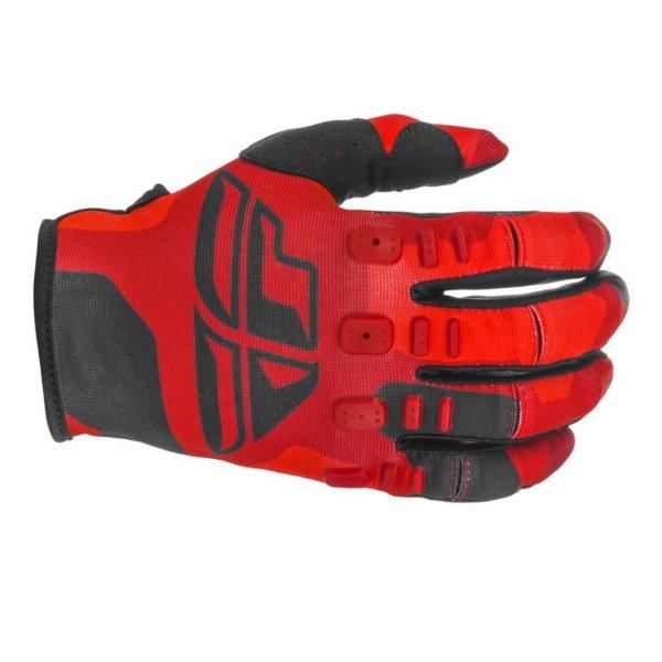 Kinetic K221 Gloves Red Black Fly