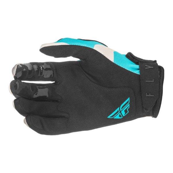 Fly Kinetic K221 Gloves Grey Blue Size: Mens - S