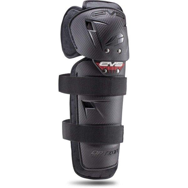 EVS Option Knee Guards Adult Black Black