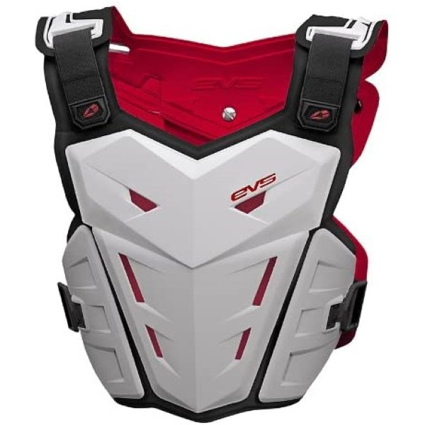 EVS F1 Roost Guard Youth White Size: S-M