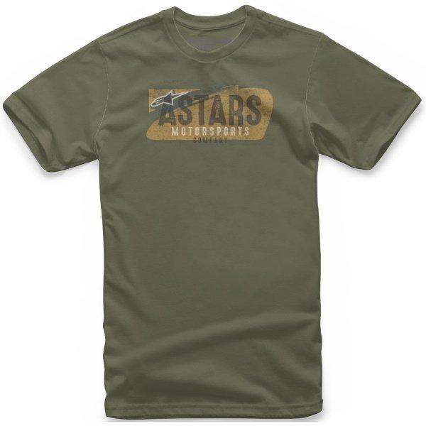 Alpinestars Full Tee Military Green Size: S