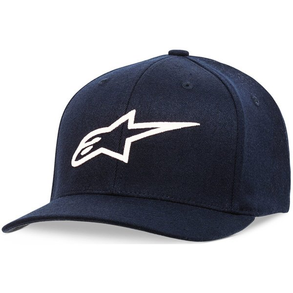 Alpinestars Ageless Curve Cap Navy White Size: S-M