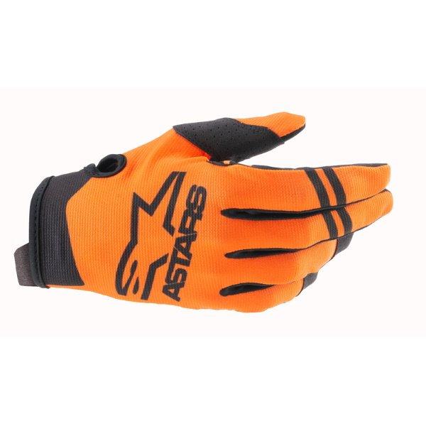 Radar Gloves Orange Black