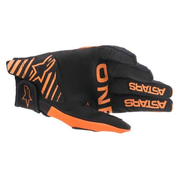 Alpinestars Radar Gloves Orange Black Size: Mens - M