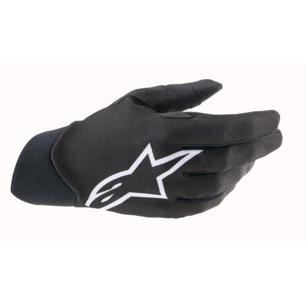 Dune Gloves Black White Motocross Gloves