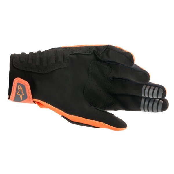 Alpinestars SMX-E Gloves Orange Black Size: Mens - M