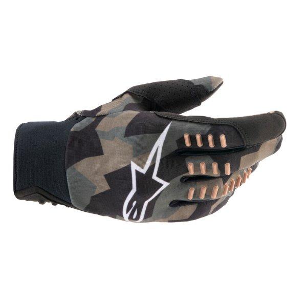 Alpinestars SMX-E Gloves Black Camo Sand Size: Mens - M